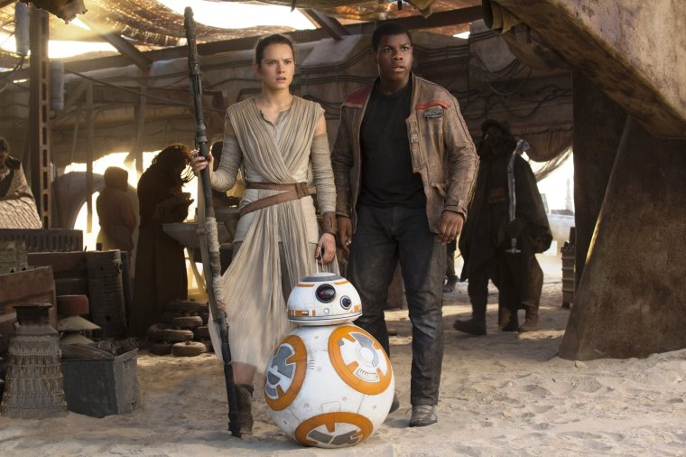 Rey and Finn Star Wars